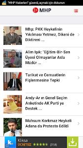 MHP Haberleri screenshot 0