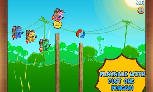 Jetpack Piggies Bros screenshot 1
