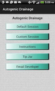 Autogenic Drainage screenshot 0