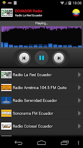 RADIO ECUADOR screenshot 0