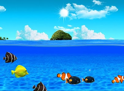Aqua World HD Free wallpaper screenshot 8