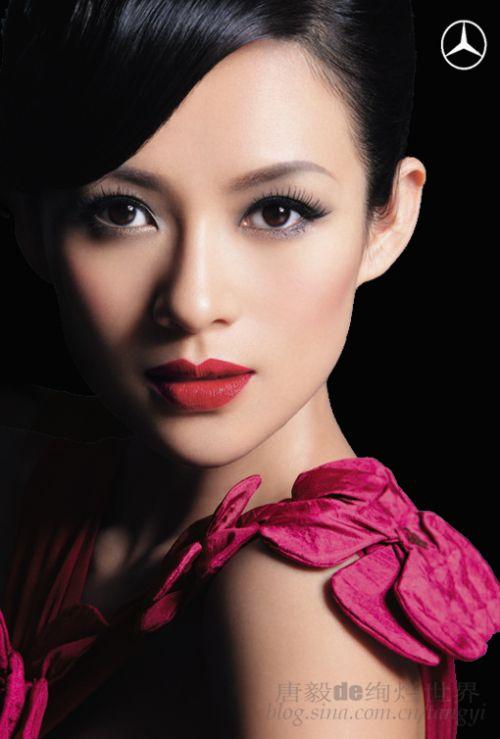 Zhang Ziyi Mercedes-Benz Ads Photoshoot