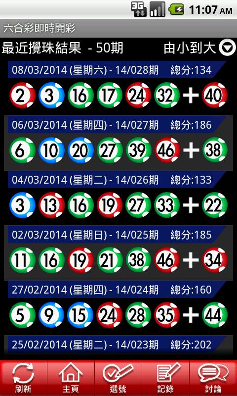 六合彩Mark Six - 即時開彩(Live!) - Android Apps on Google Play
