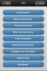 Advance Acne Treatment screenshot 1
