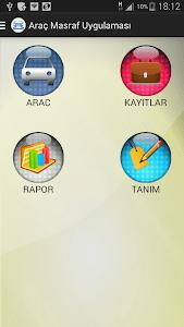 Araç Masraf Takip screenshot 1