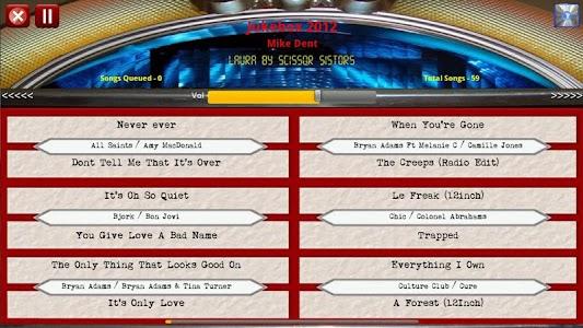 Jukebox 2012 Free Edition screenshot 1
