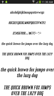 Fonts for FlipFont 50 #3 screenshot 01