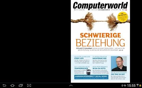 Computerworld Schweiz screenshot 1