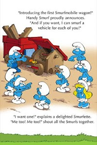 The Smurfs - Smurfmobile Race screenshot 2