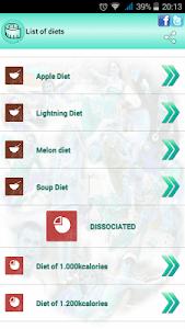 BMI Ideal weight and calories screenshot 5