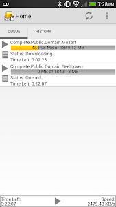 SABNZBDroid screenshot 6