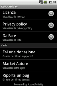 About Activity screenshot 1