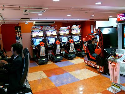 Akihabara, salón de juegos