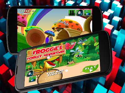 Froggie's Forest Adventure! screenshot 3