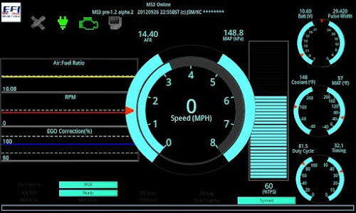 Shadow Dash MS – Awesome dashboards and data logging for your