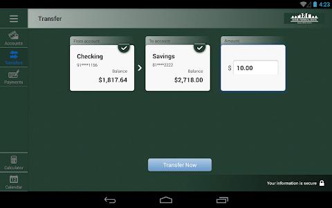 Home Federal Bank Tablet screenshot 4