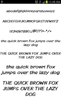 Write Fonts for FlipFont free screenshot 03