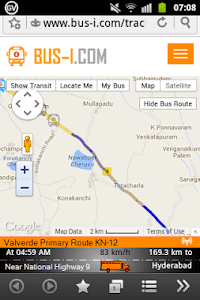 Bus-i Handle GPS Tracker screenshot 3