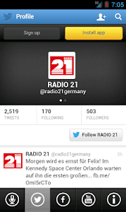 RADIO 21 screenshot 1