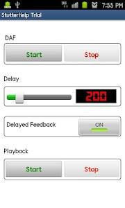 Stuttering Help Trial screenshot 2