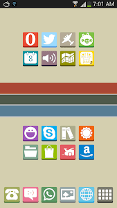 FlatBox - Icon Pack screenshot 0
