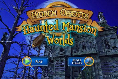 Hidden Objects Haunted Worlds screenshot 0