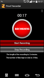 Proof Recorder (free) screenshot 0
