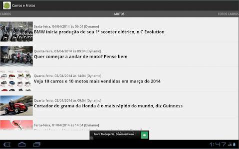 Carros e motos - Notícias screenshot 6