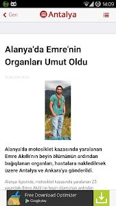 Antalya Haberleri screenshot 5