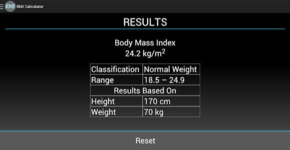 BMI Calculator screenshot 8