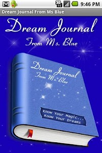 Dream Journal From Ms Blue screenshot 0