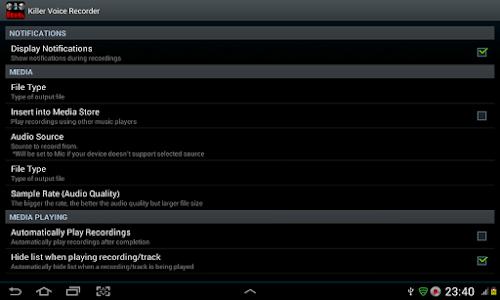 Killer Voice Recorder Pro screenshot 20