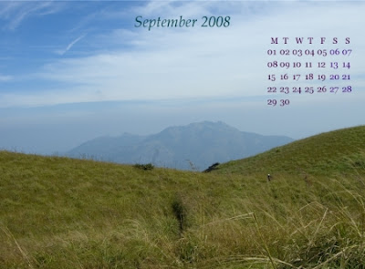 Desktop Calendar: September 08