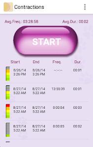 My Contractions Tracker screenshot 0