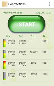 My Contractions Tracker screenshot 1