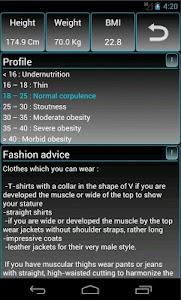FASHION BMI - Free screenshot 6