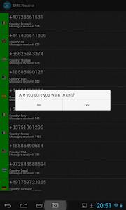 SMS Receive screenshot 10