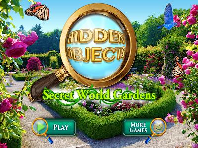 Hidden Objects Secret Gardens! screenshot 5