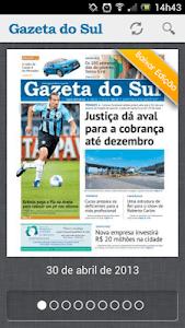 Gazeta do Sul screenshot 1