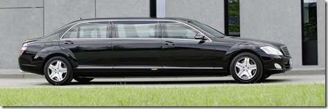 Mercedes-Benz S600 Pullman Guard