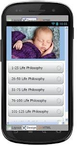 Best Life Philosophy Quotes screenshot 0