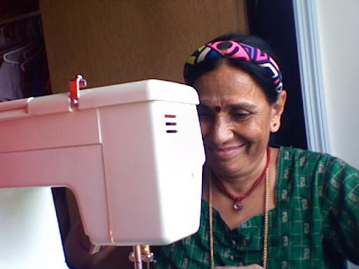 Jaya Aunty, Happy at Work