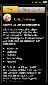 Diabetes-Uhr screenshot 5