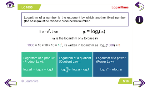 Grade 10 Math Learning Cards screenshot 7