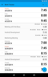 Work Tracker screenshot 6