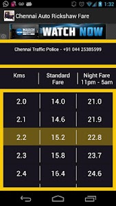 Chennai Auto Rickshaw Fare screenshot 1