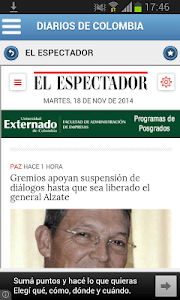 Diarios de Colombia screenshot 0