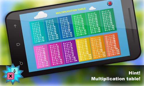 Math.Multiplication table Free screenshot 14