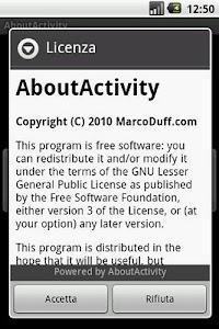 About Activity screenshot 2
