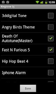 Ringtone DJ screenshot 0